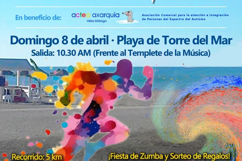Cartel_III Carrera Color en la Playa Torre del Mar_web